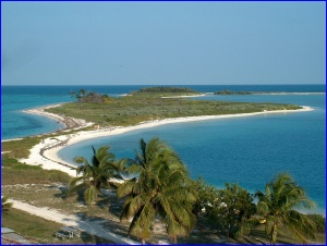 Bush Key, in the Dry Tortugas