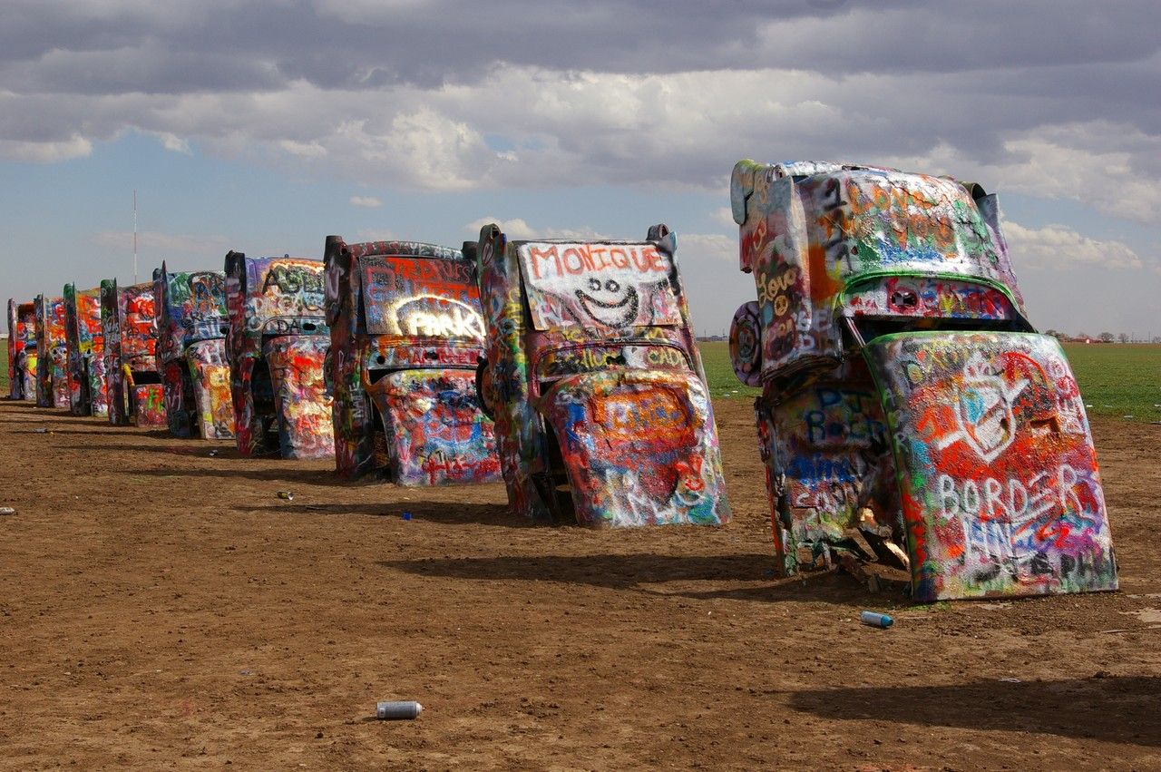 Cadillac Ranch Amarillo Texas Pack Your Bags Pinterest